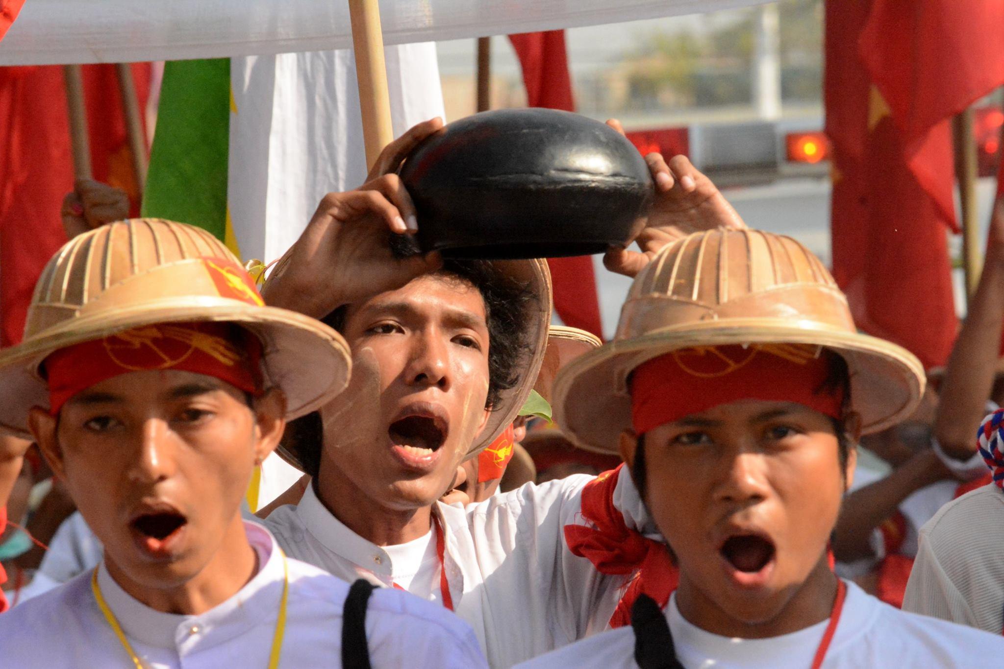 En Birmanie les leaders étudiants sont harcelés : retour sur les manifestations de 2015