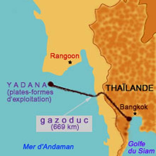 Total en Birmanie…