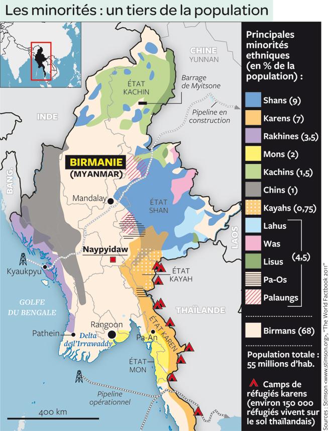 """Résultat de recherche d'images pour """"carte myanmar ethnies"""""""