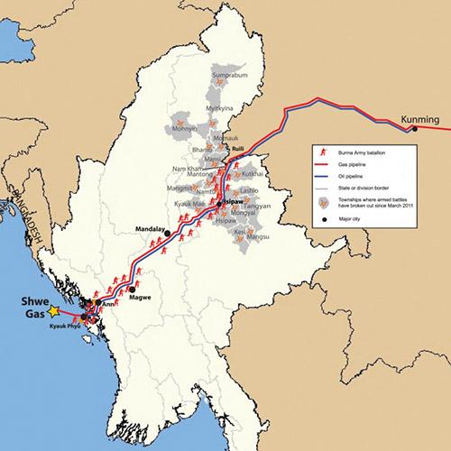 Bonne gouvernance et industrie extractive en Birmanie