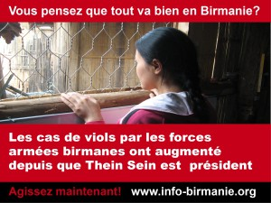 Poster - vous pensez que tout va bien en Birmanie 3