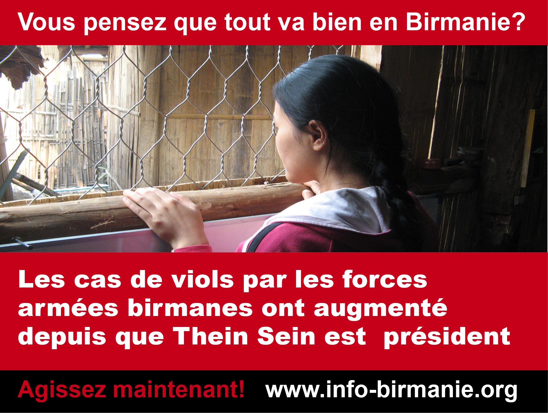Violences sexuelles en Birmanie : une commission d'enquête internationale s'impose