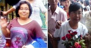 Prisonniers politiques du mois: Myint Myint Aye et Khin Mi Mi Khaing