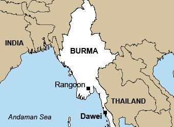 map-dawei