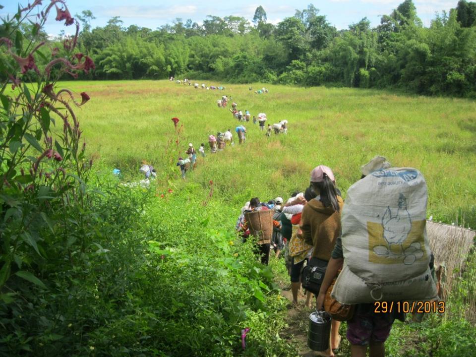 Des milliers de villageois  pris au piège par les combats dans l'État Kachin