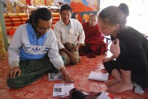 Discussions avec l'équipe d'Info Birmanie