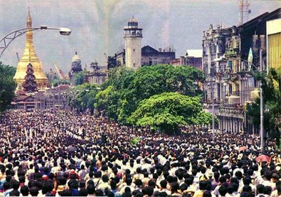 Birmanie : Il y a 29 ans, des manifestants réclamaient l'avènement de la démocratie