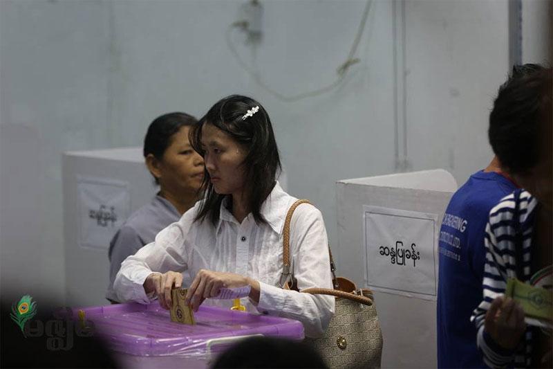 « A voté ! » : Retour sur un jour de vote en Birmanie