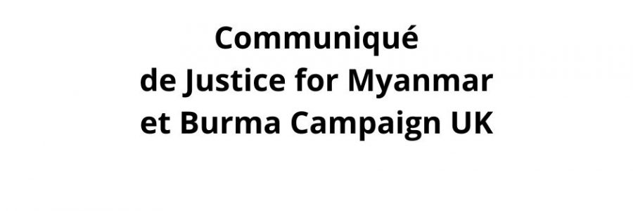 Sanctionnez l'armée, pas le peuple birman