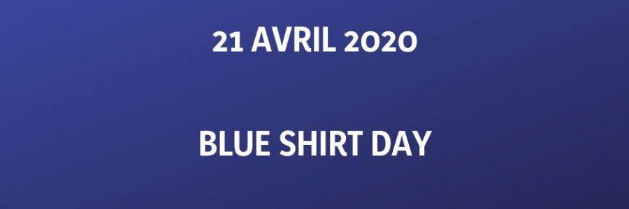 21 avril 2020 / Blue Shirt Day pour la libération de tous les prisonniers politiques