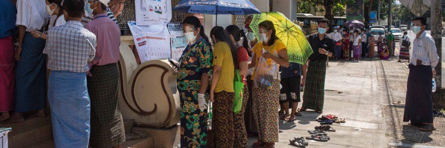 Récit d'une journée de vote à Yangon