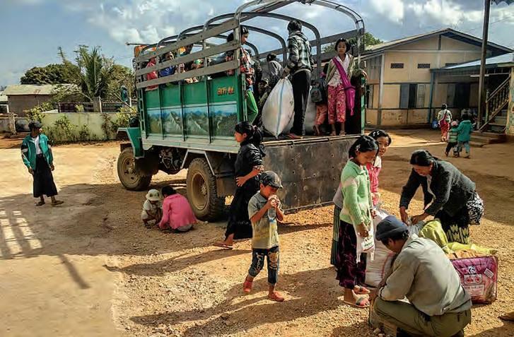 Les combats continuent dans les Etats Shan et Kachin