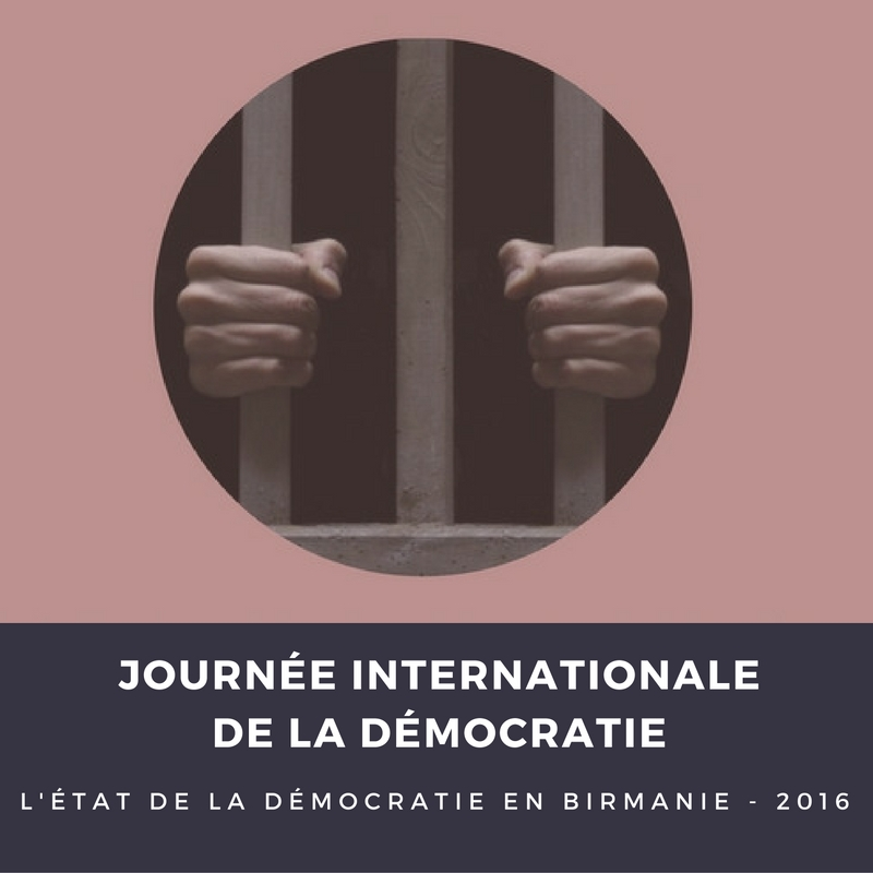 Journée internationale pour la démocratie : le bilan en Birmanie