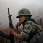 MYANMAR SOLDIER