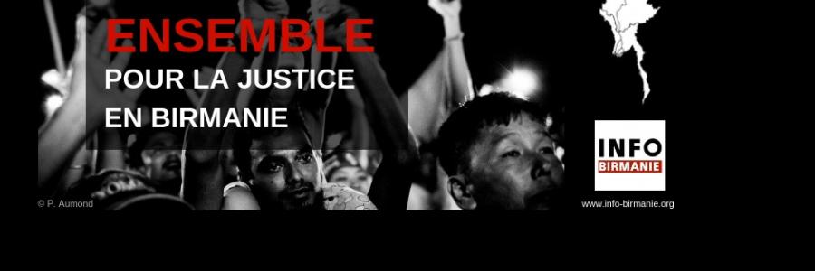 Campagne de dons 2018 : Ensemble pour la justice en Birmanie
