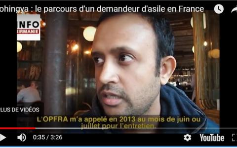 [VIDEO] Rohingya : le parcours d'un demandeur d'asile en France