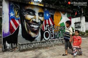 obama visite Burma 2012
