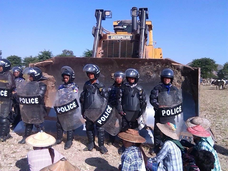 La mine de cuivre de Letpadaung ou le symbole de la répression injuste des paysans birmans